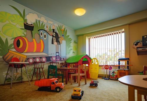 Dětský klub v ubytování Hotel Harmonie