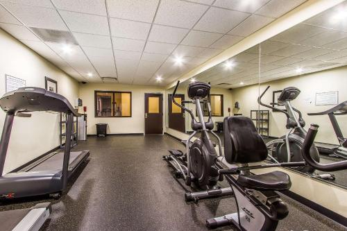 The fitness center and/or fitness facilities at Evangeline Downs Hotel, Ascend Hotel Collection