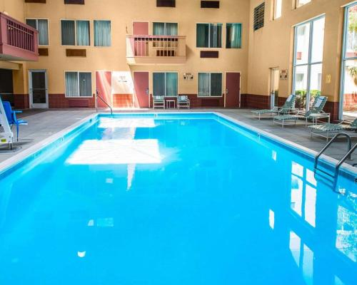 The swimming pool at or near Clarion Hotel and Conference Center Greeley Downtown