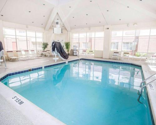The swimming pool at or near Quality Inn & Suites Denver International Airport