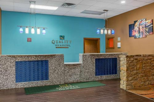 The lobby or reception area at Quality Inn & Suites Bedford West