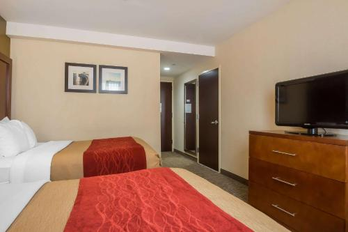 Un ou plusieurs lits dans un hébergement de l'établissement The Staten Island Inn