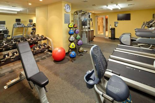 The fitness center and/or fitness facilities at Cambria Hotel New York - Chelsea