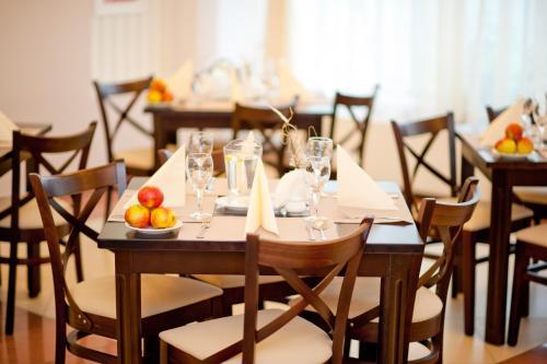 Restauracja lub miejsce do jedzenia w obiekcie Bagińscy Spa