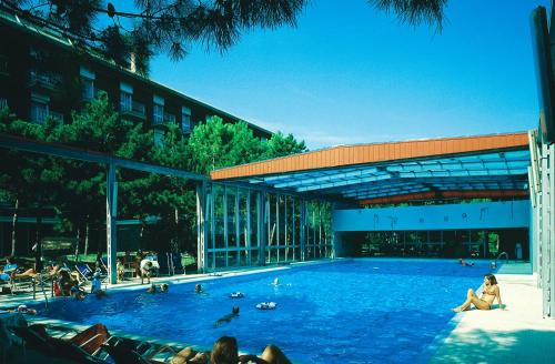 The swimming pool at or near Hotel Meridianus