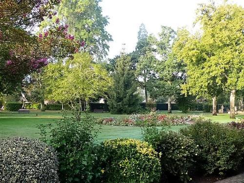 Jardin de l'établissement Auberge des Pins