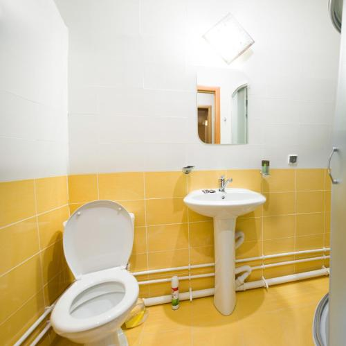 Ванная комната в Hotel Agata