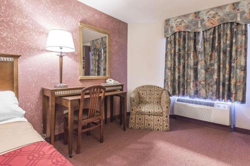 Гостиная зона в Econo Lodge Orillia