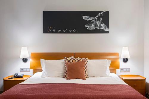 Кровать или кровати в номере Villa Four Rooms