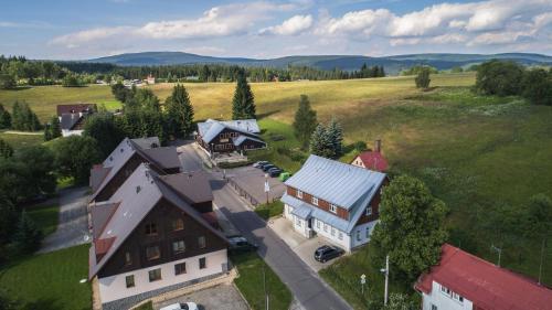 Letecký snímek ubytování Penzion Heidi