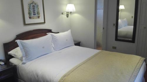Cama o camas de una habitación en Hotel Boutique Orly