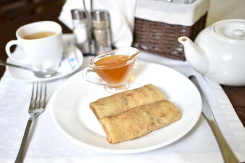 Завтрак для гостей Гостиница Аэропорт