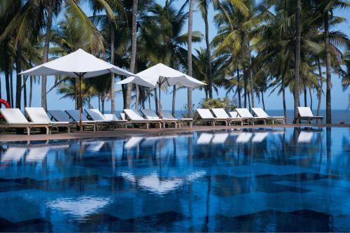 The swimming pool at or near Taj Holiday Village Resort & Spa, Goa
