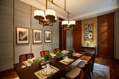 A restaurant or other place to eat at Capella Shanghai, Jian Ye Li