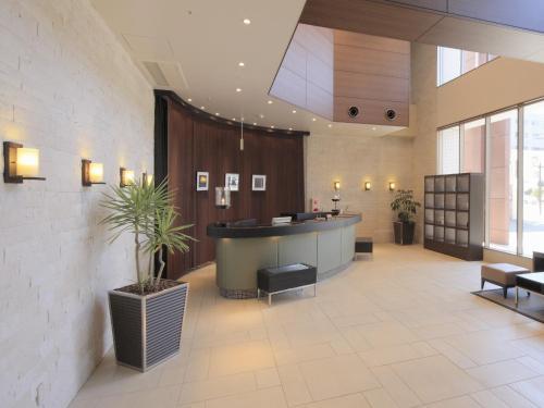 The lobby or reception area at K's Street Hotel Miyazaki