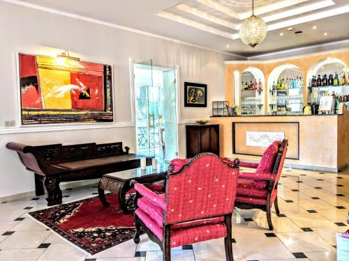 The lobby or reception area at Arts Club Boutique Hotel & Spa