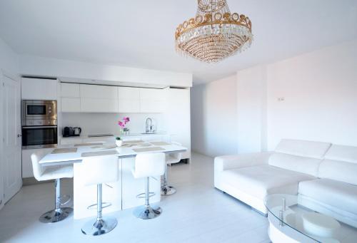 Area soggiorno di Luxury Apartment in Valencia