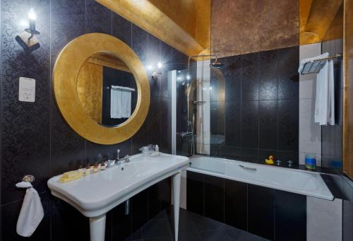 Ванная комната в Hotel Wentzl