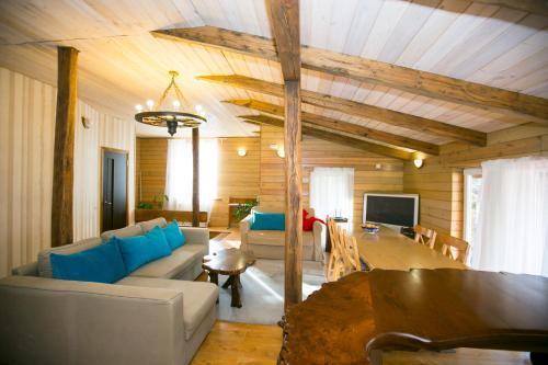 Гостиная зона в Гостевой дом «Каштан»
