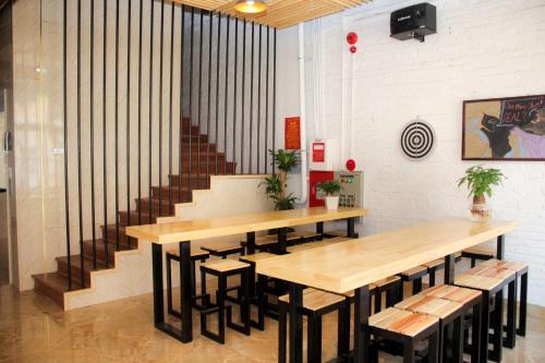 Лаундж или бар в AROMA Ha Long Hostel
