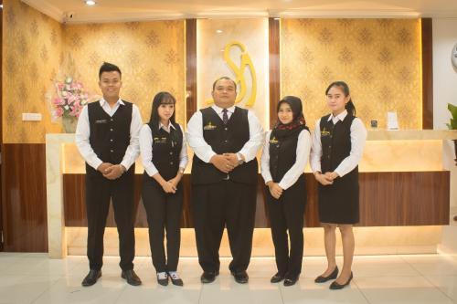 Members of staff at Hotel Salam Asri