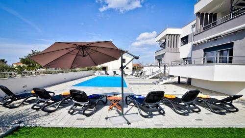 The swimming pool at or close to Villa Jela Zadar
