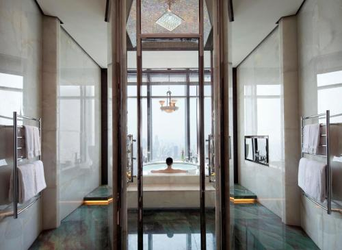 The fitness center and/or fitness facilities at The Ritz-Carlton Shanghai, Pudong