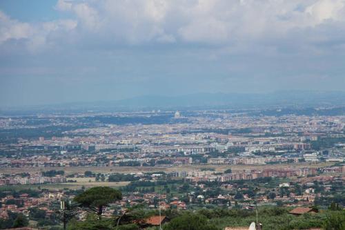 A bird's-eye view of Colonna Hotel