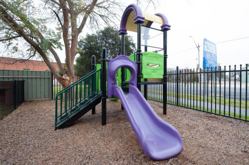 Children's play area at Riverina hotel