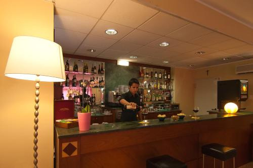 The lounge or bar area at Diva Hotel