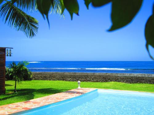 A piscina localizada em Tahiti Surf Beach Paradise ou nos arredores