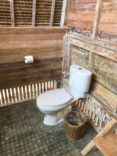 A bathroom at Alam Karang