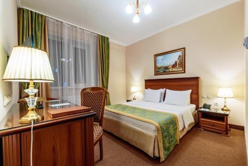 Кровать или кровати в номере Отель Relita-Kazan