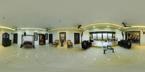 The lobby or reception area at JAS Exotica
