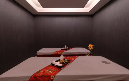 Spa and/or other wellness facilities at Grand Picasso Hotel