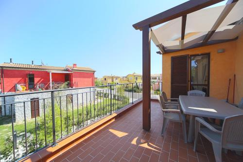 A balcony or terrace at Adamo Ed Eva Resort
