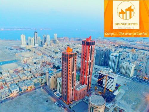 منظر Orange Suites Hotel من الأعلى