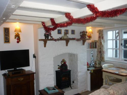 A television and/or entertainment center at Anvil Cottage 36 High Street
