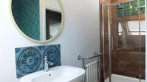 A bathroom at Albert View 2