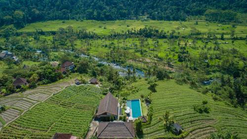 Vue panoramique sur l'établissement Villa Kropak