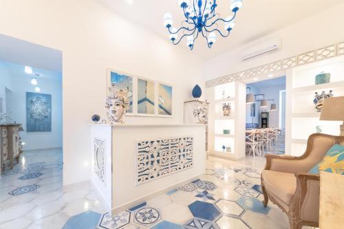 Hall o reception di QuattroCuori Boutique Hotel & Spa