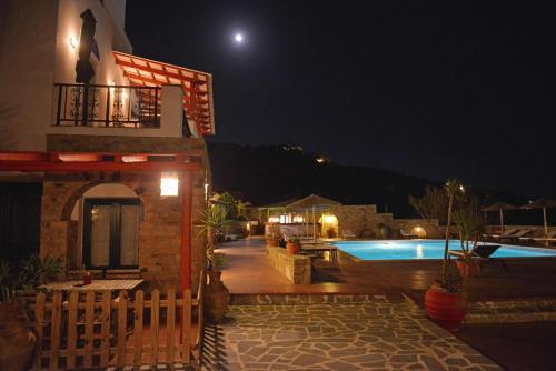 The swimming pool at or near Paradisia Villas