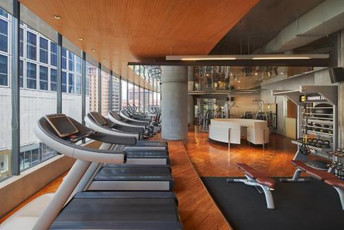 The fitness center and/or fitness facilities at The Westin Kuala Lumpur