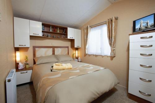 Ein Bett oder Betten in einem Zimmer der Unterkunft Dein Lieblingsplatz