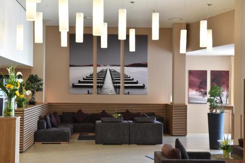 Lobby/Rezeption in der Unterkunft Welcome Hotel Darmstadt