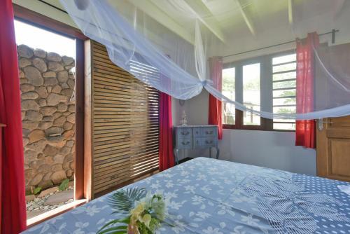 Cama ou camas em um quarto em Omati Lodge