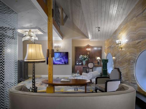 Vstupní hala nebo recepce v ubytování Grandezza Hotel Luxury Palace