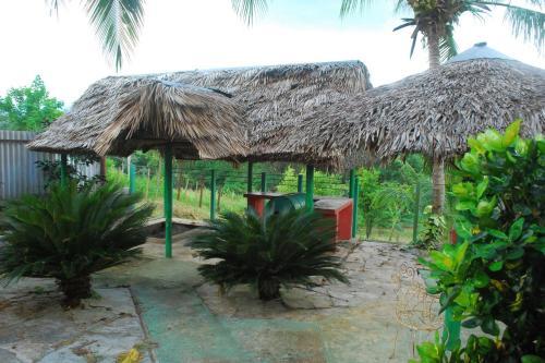 The swimming pool at or near Hostal Trujillo