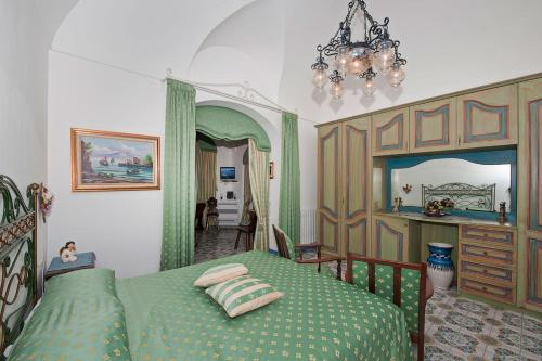 A bed or beds in a room at Casa Teresa