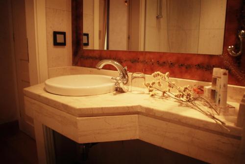 Ванная комната в Siora Vittoria Boutique Hotel